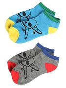 Fourstar Pirate Lo Socks 2 Pack