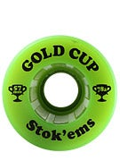 Gold Cup Stokems 78a Green Wheels