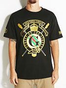 Gold Wheels Buckle T-Shirt