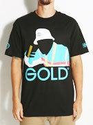 Gold Wheels Cali T-Shirt