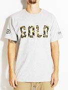 Gold Wheels Chains T-Shirt