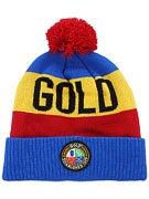 Gold Crest Beanie