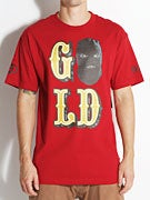 Gold Wheels Masked T-Shirt
