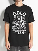 Gold Wheels Paper Chase T-Shirt