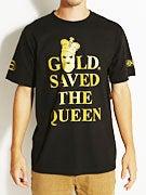 Gold Wheels Queen T-Shirt