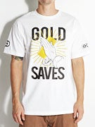 Gold Wheels Saves T-Shirt