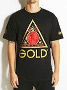 Gold Wheels Three Point T-Shirt
