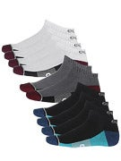 Globe Evan Ankle Sport Socks 5 Pk. Assorted