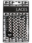 Globe Flat Shoe Laces  Checker