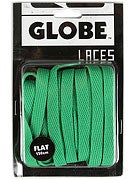 Globe Flat Shoe Laces  Kelly Green
