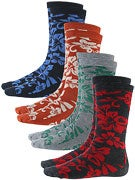 Globe Hawaiian Deluxe Socks 4 Pk.