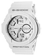 G-Shock GA 150 Combi Watch  White