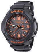 G-Shock G-Aviation Large GW-3000B Watch  Grey/Orange