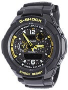 G-Shock G-Aviation Multi Mission GW-3500B Watch  Black