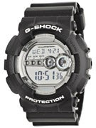 G-Shock GD-100BW-1 Watch  Black