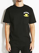 Grizzly Bad News Bear Pocket T-Shirt