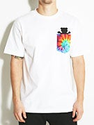 Grizzly Digi Tie Dye Pocket T-Shirt