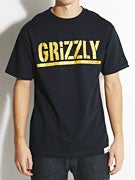 Grizzly Metallic Stamp T-Shirt