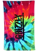 Grizzly Tie Dye Beach Towel