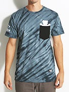 Grizzly Tie Dye Pocket T-Shirt