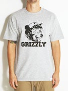 Grizzly Throwback Bear T-Shirt