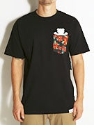 Grizzly Tropical High Pocket T-Shirt