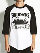 Heel Bruise Rough On Rats 3/4 Sleeve Shirt