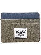 Herschel Charlie Card Wallet Crosshatch Beech