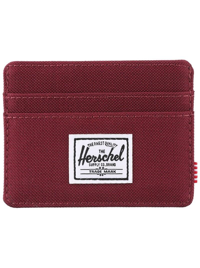 Herschel Charlie Card Wallet Windsor Wine