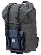 Little America Backpack Chacoal/Navy Crosshatch