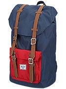 Herschel Little America Backpack Navy/Red