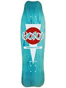 Hosoi Hammerhead Double Kick White/Teal Deck 9.0 x 31.5