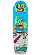 Heroin Curb Crusher 2 Cruiser Deck  9.5 x 32