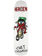 Heroin Childress Eyeball Deck  8.75 x 32.72