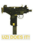 Skate Mental Uzi Does It Air Freshener