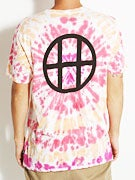 HUF Circle H Burst Wash T-Shirt