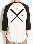 HUF Strike Out Raglan