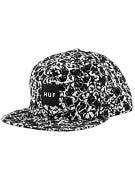 HUF Skulls Box Logo Snapback Hat