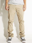 Hurley Corman 2.0 Chino Pants  Sandstorm