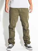 Hurley Corman Worker Chino Pants  Fort Green