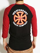 Independent Bauhaus 3/4 Sleeve Raglan Shirt