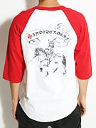 Independent F. French Death Horse 3/4 Sleeve Shirt