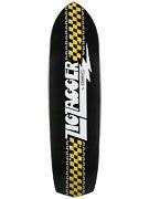 Krooked Zip Zagger Classic Blk/Wht Deck  8.6 x 32.38
