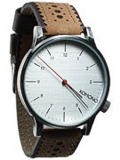 Komono Winston Brogue Watch  Macchiato