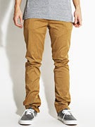 KR3W Slim 5 Pocket Twill Pants  Drab