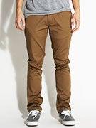 KR3W K Slim Chino Pants  Coffee