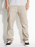 KR3W Klassic Chino Pants  Dark Khaki