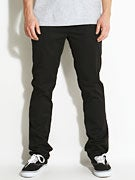 KR3W K Slim Chino Pants  Black