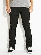 KR3W K Slim Chino Pants  Black