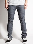 KR3W K Slim Rehab Denim Chino Pants  Charcoal